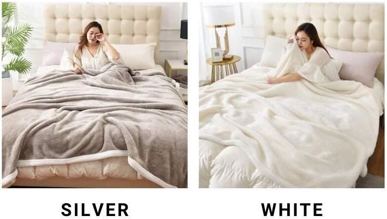 buy sheepskin blanket